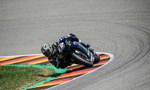 "Penúltimo no grid, Viñales tenta manter otimismo na Alemanha: ""Vamos melhorar"""