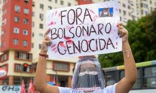 Brasília: manifestantes pedem vacinas e saída de Bolsonaro