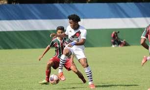 Com gol de João Wesley, de pênalti, Vasco vence o Fluminense pela quinta rodada da Copa Rio Sub-17