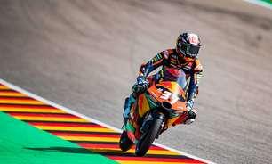 Acosta dá bote no fim e vence GP da Alemanha de muitas quedas na Moto3