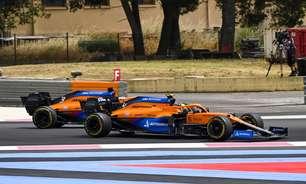 """Norris tem """"corrida perfeita"""" e 5º inesperado na França. E Ricciardo vibra: """"Já era a hora"""""""