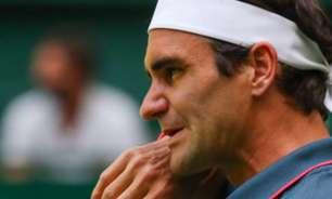 Psicólogo comenta negatividade de Federer em Halle
