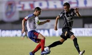 Cantillo valoriza ponto fora de casa e vê bom jogo do Corinthians