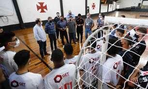 Vasco apresenta time adulto e sub-20 de futsal; modalidade será gerida de forma autossustentável