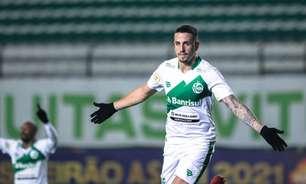 Matheus Peixoto dedica gol para ex-técnico
