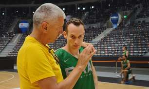 Marcelinho Huertas se junta à seleção para o Pré-Olímpico