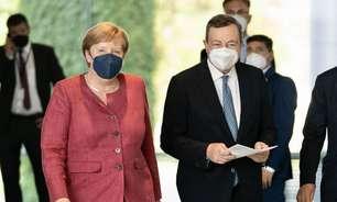Draghi e Merkel apelam por maior compromisso europeu com migração