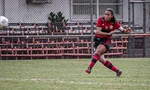 Autora de golaço de falta, Ana Carla, do Flamengo, é eleita a 'Mina da Rodada' do Brasileiro Feminino
