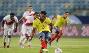 Pelo grupo do Brasil, Peru bate a Colômbia na Copa América