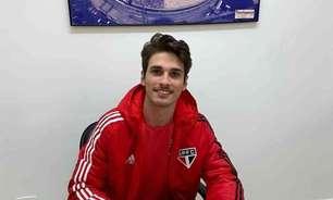 Sub-20: volante Iseppe renova contrato com o São Paulo