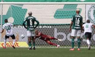 Fundamental contra o América-MG, Jailson defende sexto pênalti com a camisa do Palmeiras