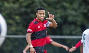 Com cinco gols nos últimos quatro jogos, Lázaro comemora boa fase no Flamengo e projeta Brasileiro Sub-20