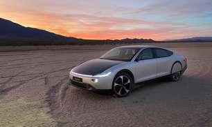 Carro elétrico com energia solar tem autonomia de 725 km