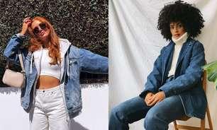 Jaqueta jeans: saiba criar looks com a peça atemporal