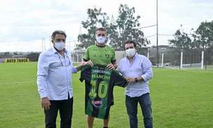 Vagner Mancini é apresentado no América-MG com a missão de tirar a equipe do Z4 do Brasileirão