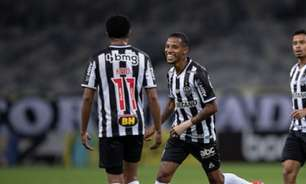 Veja os gols do empate entre Galo e Chapecoense no Mineirão