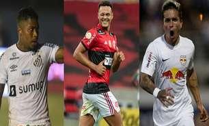 Marinho, Muniz, Artur... Veja quem são os maiores finalizadores do Brasileirão 2021