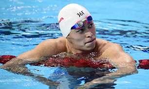 Nadador chinês tem pena por doping reduzida, mas fica fora da Olimpíada