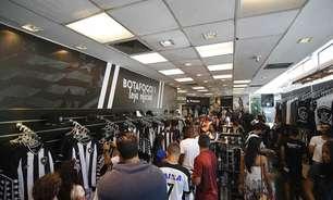 Loja oficial do Botafogo em General Severiano fecha, e clube deve buscar novo franqueado