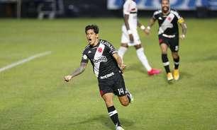 Vasco conquistou quatro pontos em seis possíveis contra o São Paulo na última temporada; relembre