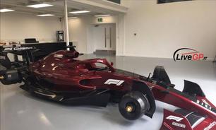 Aqui estão as primeiras fotos do carro da F1 para 2022