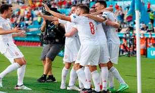 Espanha goleia na última rodada, mas se classifica em segundo lugar