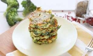 Galette de brócolis para um almoço rápido