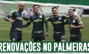 Boletim: Palmeiras encaminha renovação com dois jogadores importantes do elenco
