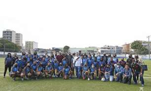 Vasco abre Centro de Treinamento para o futebol feminino em Caxias