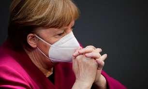 Merkel diz que pandemia não acabou e que Alemanha ainda está sob risco