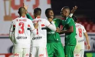 Em jogo movimentado, São Paulo empata com o Cuiabá e segue sem vencer no Campeonato Brasileiro