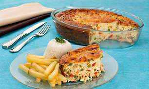 Receita de gratinado de frango e legumes fácil