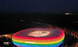 Uefa integra cores do arco-íris em seu logo após polêmica com estádio de Munique