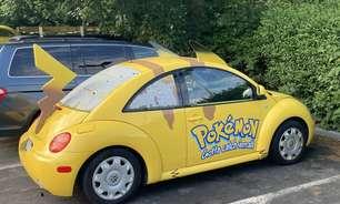 Carro lendário de Pokémon é avistado nos EUA e viraliza