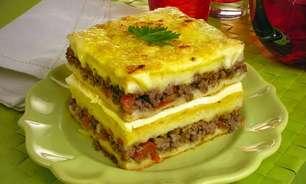 Sanduíche de forno para um lanche da tarde especial