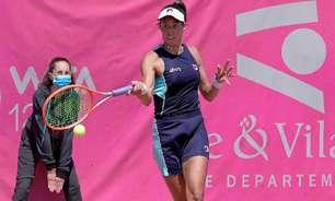 Luisa Stefani inicia os treinos para a disputa de Wimbledon