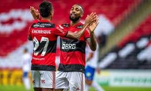 VÍDEO: veja os gols da vitória do Flamengo e a comemoração com Gerson na despedida do Coringa