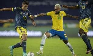 Com Neymar e companhia, SBT cresce com Copa América, mas Globo vence pela terceira vez