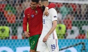 Benzema revela conversa com Cristiano Ronaldo em jogo entre Portugal e França: 'Um grande amigo'