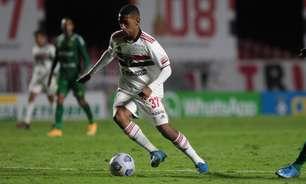 Talles recebeu mais uma oportunidade: veja os números do meia na partida contra o Cuiabá