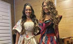 Juliette Freire e Elba Ramalho cantam em live de São João; assista