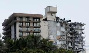 Edifício residencial desaba parcialmente na Flórida e deixa pelo menos 1 morto