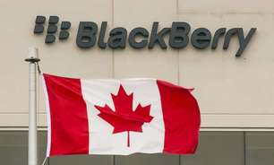 Receita trimestral da BlackBerry supera projeções