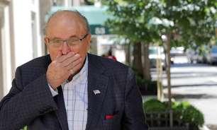 Licença de advocacia de Rudy Giuliani é suspensa após acusações falsas sobre eleição de Trump