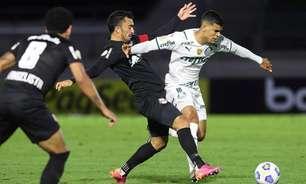 Derrota por 3 a 1 encerra invencibilidade de cinco jogos do Palmeiras diante do RB Bragantino