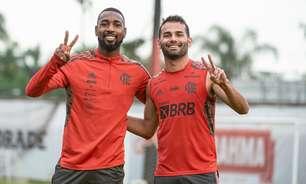 Thiago Maia passa a usar a camisa 8 do Flamengo após a saída de Gerson