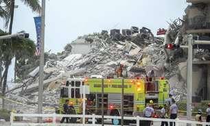Mais de 50 estão desaparecidos em prédio nos EUA, diz TV
