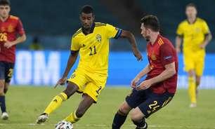 Arsenal entra na briga pela contratação de Alexander Isak, destaque da Suécia na Eurocopa