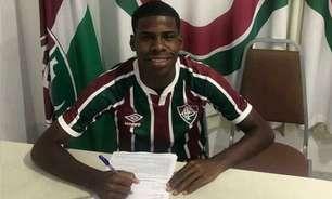 Fluminense contrata volante Matu, de 19 anos, para reforçar o sub-20: 'Muito feliz com a oportunidade'