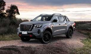 Picape Nissan Frontier terá nova geração híbrida em 2024